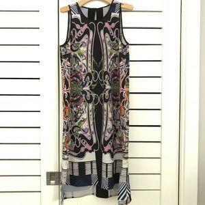 Clover Canyon kaleidoscope print midi dress